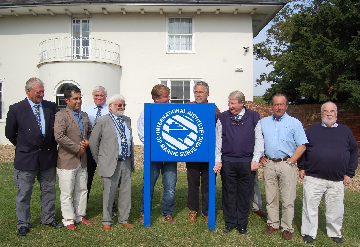 The IIMS management board (from left to right) Paul Homer, Zarir Irani, Chris Kelly, Bertrand Apperry, John Excell, John Heath, Allen Brink, Geoff Waddington and Peter Morgan. Absent Fraser Noble, Adam Brancher and Paul Townsend.