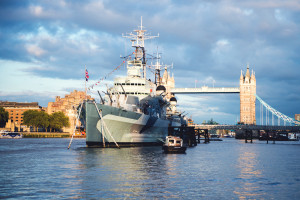 HMS Belfast hosted the IIMS Conference Dinner 2015