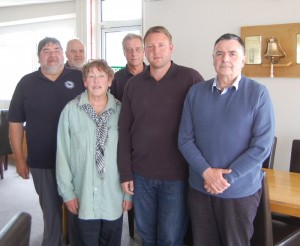 IIMS members at the Grafham Water SCWG meeting