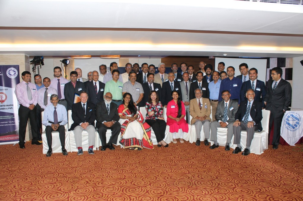 The delegates who met at the IIMS India Branch Conference in Kolkata
