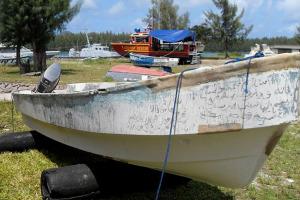 The type of skiff used by Somali pirates. Photo: UNODC