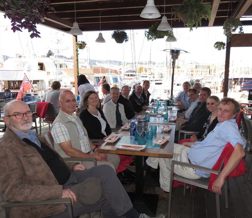 Members of the IIMS Western Mediterranean small craft working group who met in November at Palma