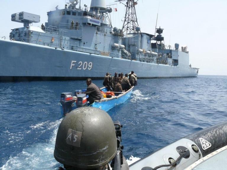 Tanker hijacks rose in 2014 despite global drop in sea piracy. Photo: German Navy