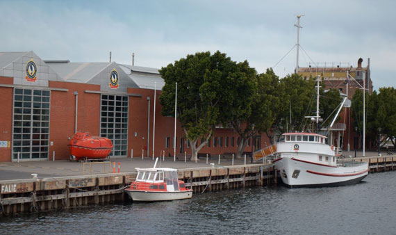 The Australian Maritime & Fisheries Academy in Adelaide. Photo courtesy of Mark Churchman.
