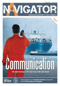 Issue 8 of The Navigator magazine by the Nautical Institute is available to read now.