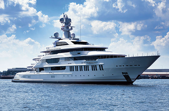 Built by Oceanco, INFINITY is the first superyacht to be delivered in 2015