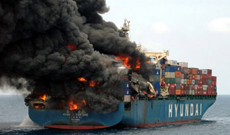 Allianz Global Corporate & Specialty SE's (AGCS) report shows shipping losses at a 10 year low
