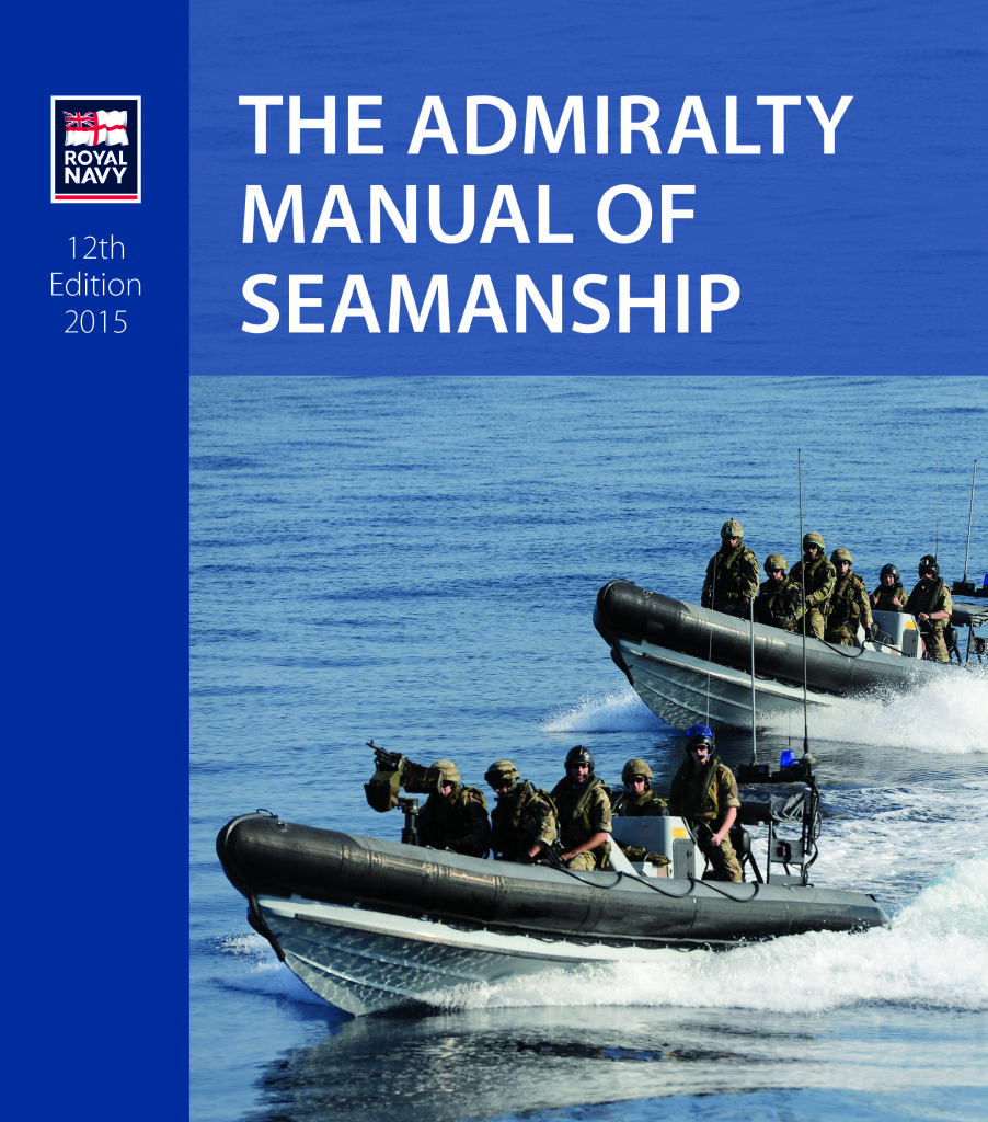 An excellent standard of seamanship is more difficult to achieve was the message at the launch of the 12th edition of The Admiralty Manual of Seamanship