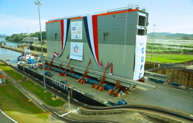 The Panama Canal Authority Advisory Board meets in Japan as the project is 88% complete and nearing completion