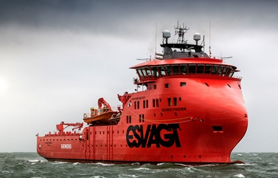 Esvagt has taken delivery of two state-of-the-art windfarm service vessels