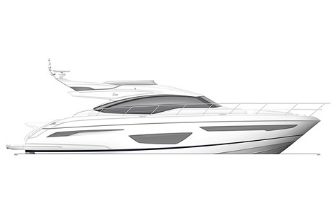 The new Princess S65 is the latest addition to the Princess S Class range