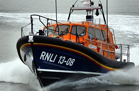 Newcastle University students are set to design the new RNLI lifeboats. Image by Steve Lowe