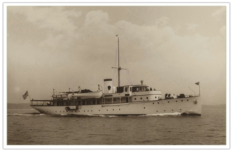 G L Watson & Co is set to restore Caritas, one of the last remaining large classic interwar motor yachts