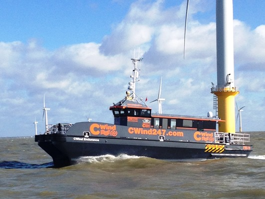 CTruk is planning to launch a 26 metre semi Swath design for the European offshore windfarm sector