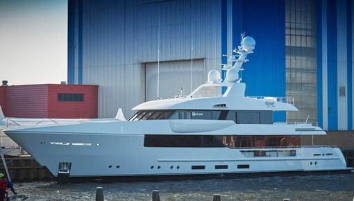 Feadship launches 44 metre Moon Sand superyacht