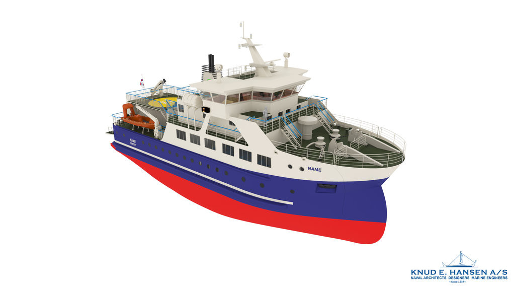 Knud E Hansen says it has been contracted to design the third generation domestic ferry for  the Faroe Islands