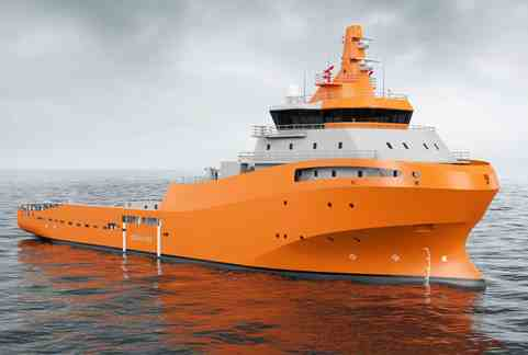 A new AHTS vessel design has been launched by Wärtsilä at this year's Sea Asia exhibition