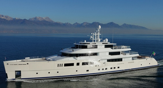 The splendid 73m Grace E was named Motor Yacht of the year at the World Superyacht Awards in Amsterdam