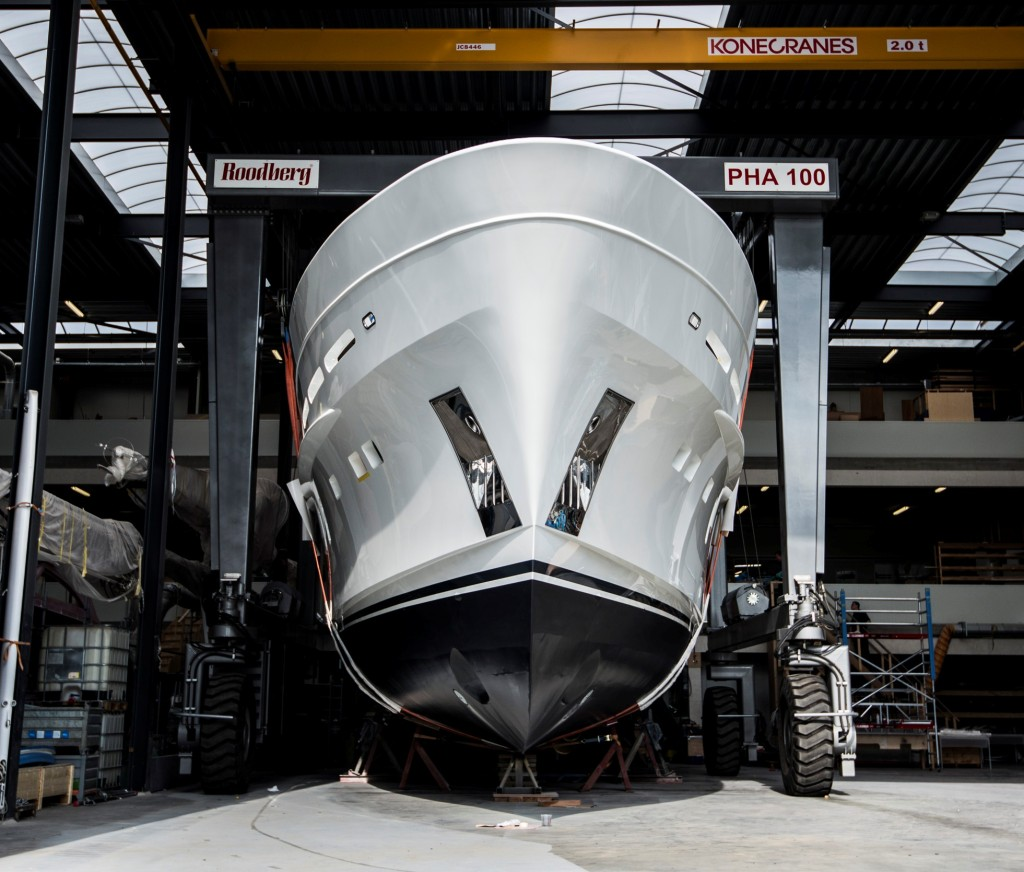 Mulder Yachts has successfully launched the Mulder 94 Voyager at the Zoeterwoude facility of Mulder Shipyard
