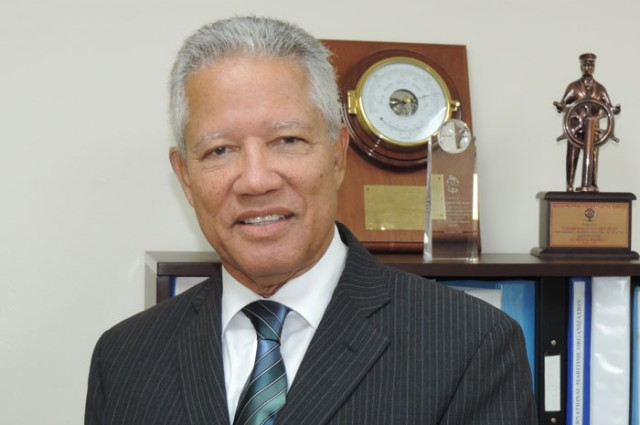 Maritime Authority of Jamaica Director General, Rear Admiral Peter Brady, has been given an important global award
