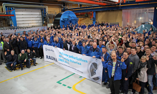 The renowned azimuth thruster by Rolls-Royce has recently celebrated 50 years since it launched