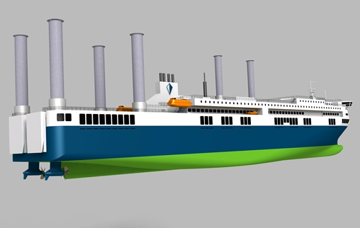 The new DeltaChallenger ro-pax concept design has been unveiled by Deltamarin
