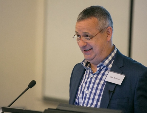 Clearly something amused me during my key note address to delegates at the IIMS Australia workshop