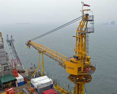 RINA set to revise its rules for offshore cranes