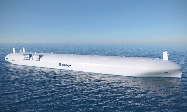 Autonomous ships are the thing of the future and Roll-Royce is leading the early research in this area