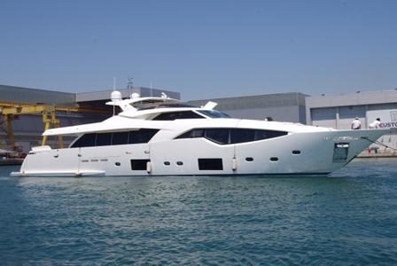 The Ferretti Group has announced the launch of their latest addition to the Custom Line series