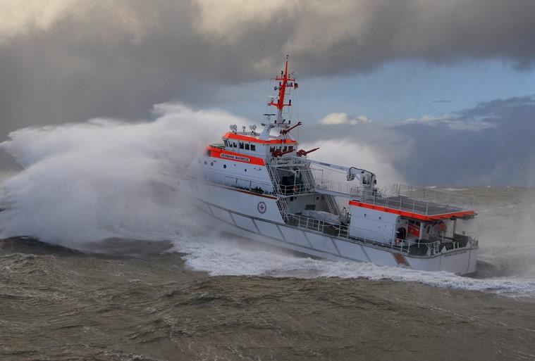 German lifeboat service celebrates 150 years. Image courtesy of Mercator Media Ltd