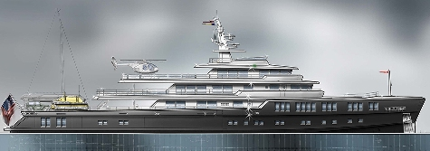 Barracuda Yacht Design is set to showcase their new 65m explorer concept at the Monaco Yacht Show