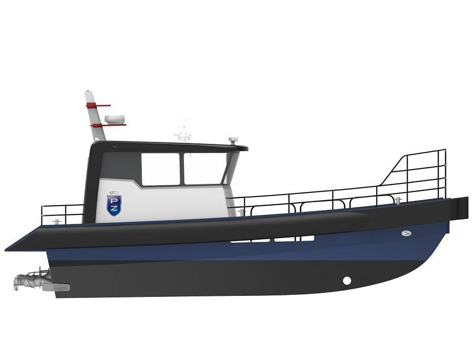 Tuco Marine Group has launched its ProZero 10m long windfarm service boat.