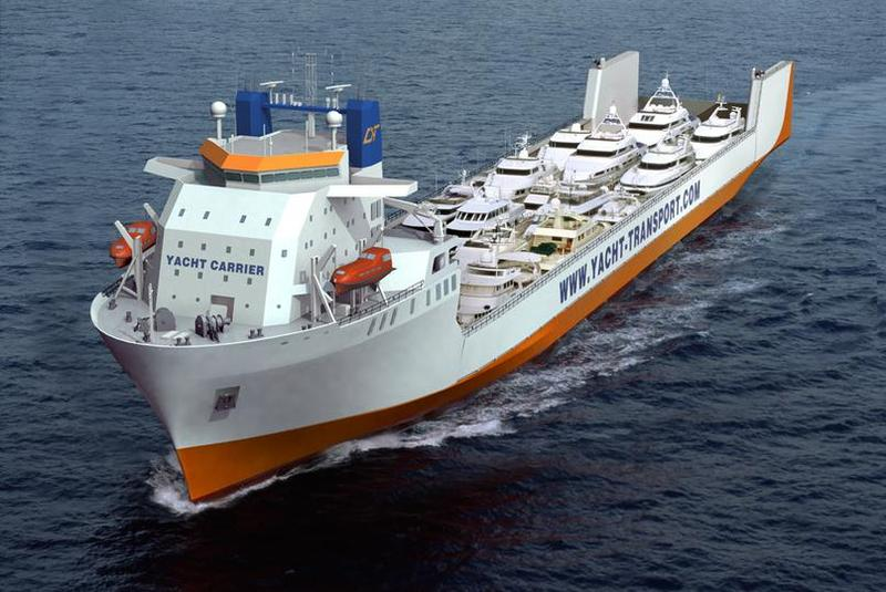 DYT Yacht Transport schedules its largest yacht carrier for trip to South Pacific