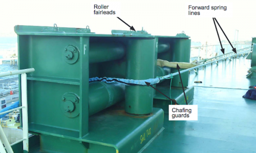 Mooring line failure on board LNG tanker, Zarga - MAIB issues urgent safety notice