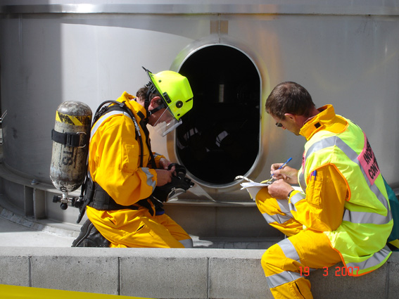 A new Joint concentrated initiative is being launched to familiarise crew on enclosed space entry