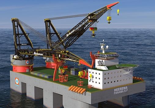 Lloyd's Register is set to class world's largest heavy lift crane vessel for Heerma