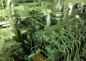 The first low pressure exhaust gas recirculation system has been fitted to a bulk carrier. Image copyright © Mercator Media 2015