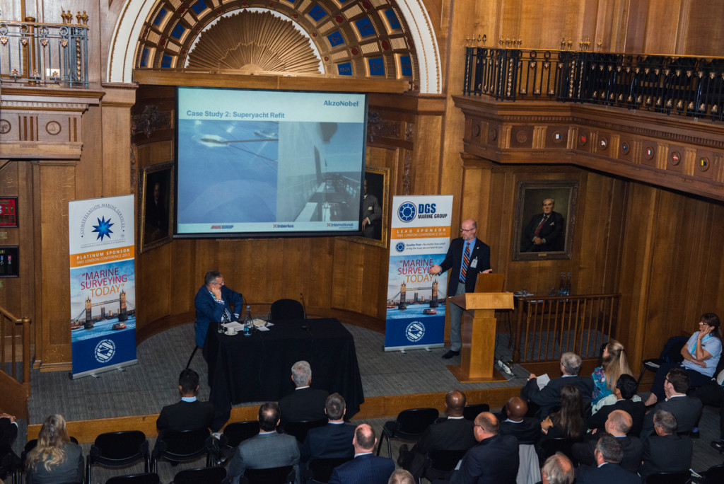 Ken Hickling in full flow at the IIMS London Conference 2015