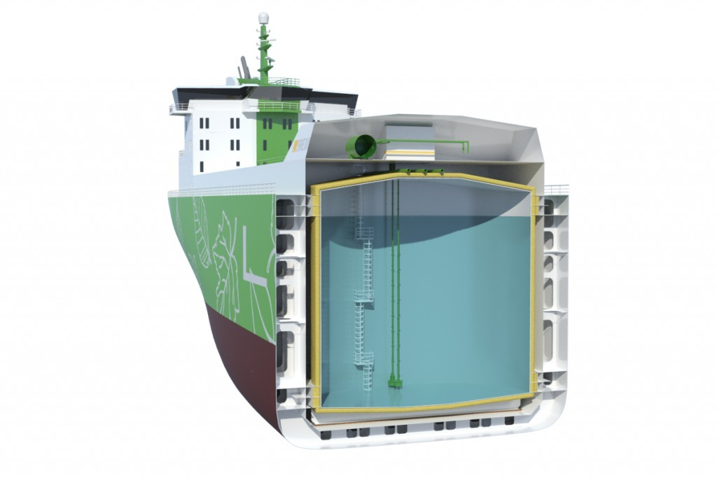 Revolutionary new multigas carrier design launched by DeltaMarin and Brevik Technology