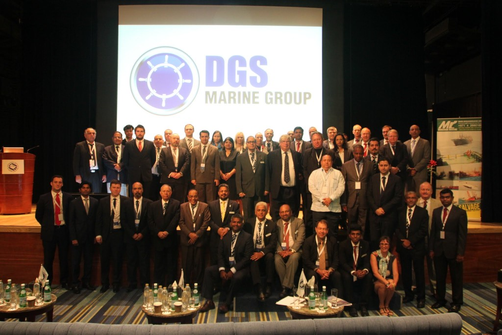 Delegates at the IIMS UAE Branch Conference pose for a group photo