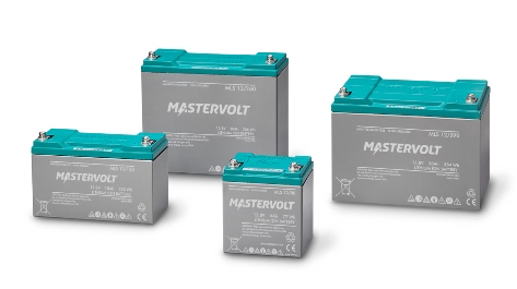 The MLS series of high performance 12 V Lithium Ion Mastervolt batteries