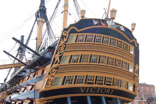 Timber donated from three Scottish estates will help to preserve HMS Victory for future generations