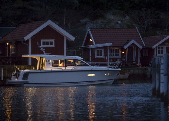 Nimbus has launched an electric leisure boat 305 Coupé