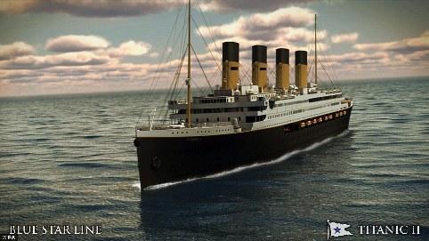 Titanic II looks set to sail from Jiangsu, China, to Dubai in 2018