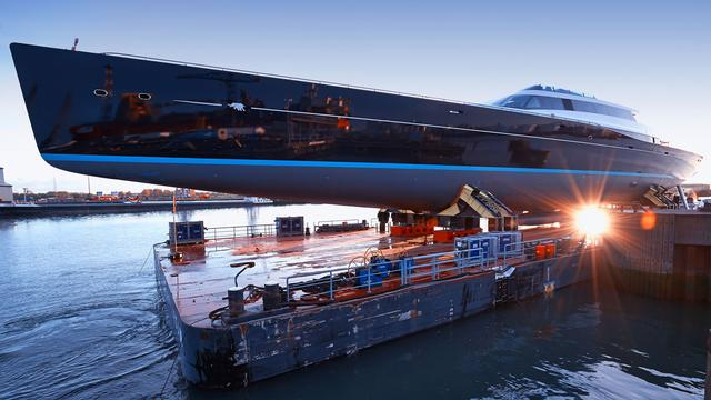 Aquijo, one of the largest ever sailing superyachts built is delivered