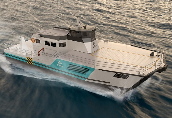 ESNA has won funding to research the next generation of Surface Effect Ships