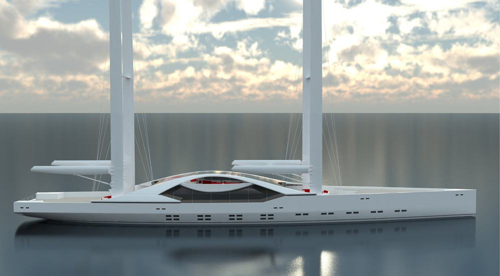 The breathtaking new superyacht concept from Mathis Ruhl Architecture Navale