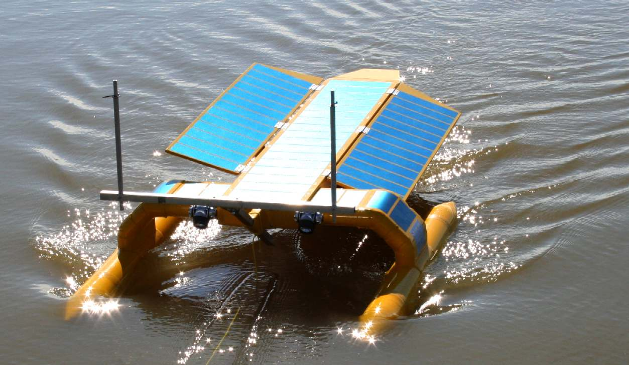 Solar Powered Seavax Hoover Concept To Clean Up The Oceans