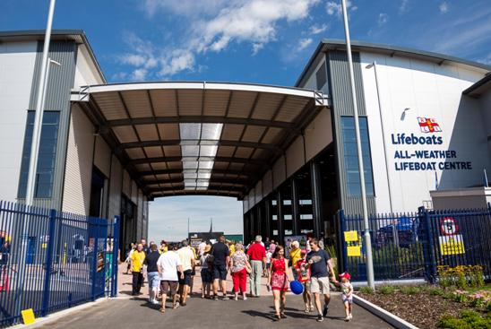 The RNLI All-Weather Lifeboat Centre will host the IIMS small craft working group